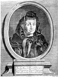 Justina Siegemund, 1690, Wikicommons