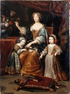Elisabeth-Charlotte et ses enfants, d'après Mignard, 1837 (d'après un original de s années 1670) @WikiCommons