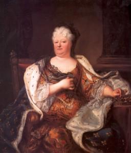 Charlotte Elisabeth, Hyacinthe Rigaud, 1719 @WikiCommons