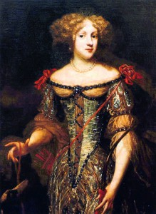 Liselotte von der Pfalz, frühes Porträt @Wikicommons